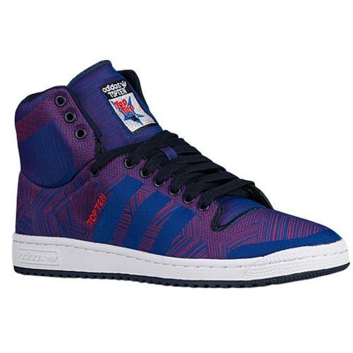 official photos 72beb 96a95 Mens Adidas Originals Top Ten Hi Woven Sneakers New, Purple D69547 New in  Box adidas AthleticSneakers