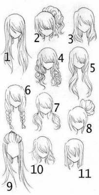 28 Ideas Drawing Tutorial Hair Girls Anime Hairstyles For 2019 Hair Drawing Hairstyles Realistic Hair Drawing Drawing Hair Tutorial Manga Hair