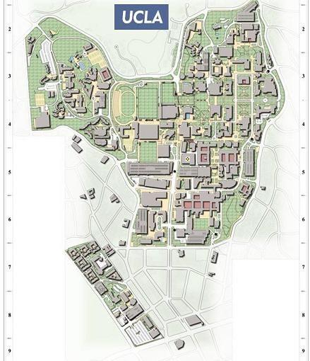 UCLA Campus Map | UCLA | Pinterest | Ucla campus map, Ucla campus ...