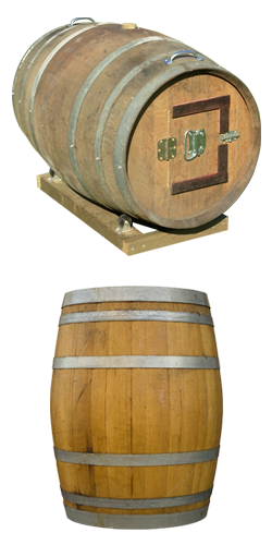 Product Image For Wine Barrel Composter Wine Barrel Composter Barrel