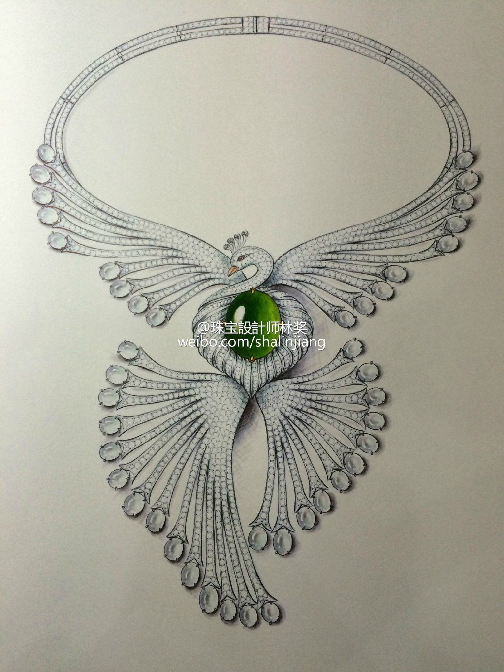 Pin by riya on sketches in 2019 | Necklace drawing ...