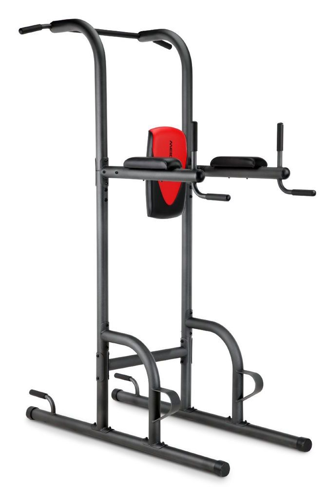 789a180586 Fitness Equipment For Home Pull-Up Push-Up Dip Vertical Knee Raise Stations  NEW  Weider