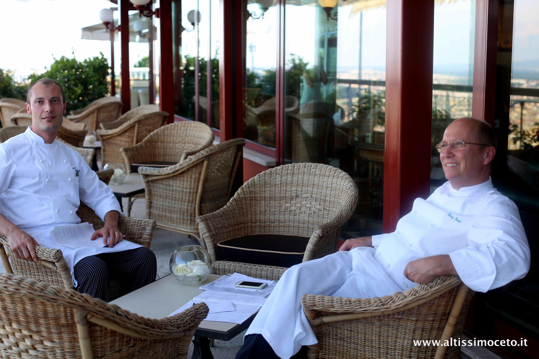 Heinz Beck al ristorante La Pergola dell'Hotel Rome Cavalieri #luxury #rome #food #frantoiomuraglia #olio