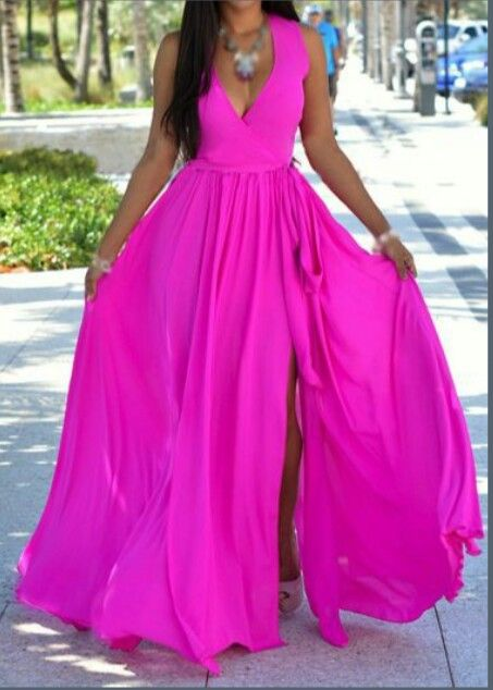 4ff03b68eb3 Fuschia dress