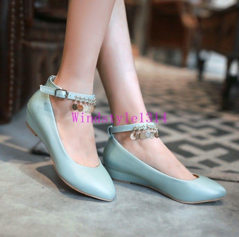 Ankle strap heels, Womens shoes pumps