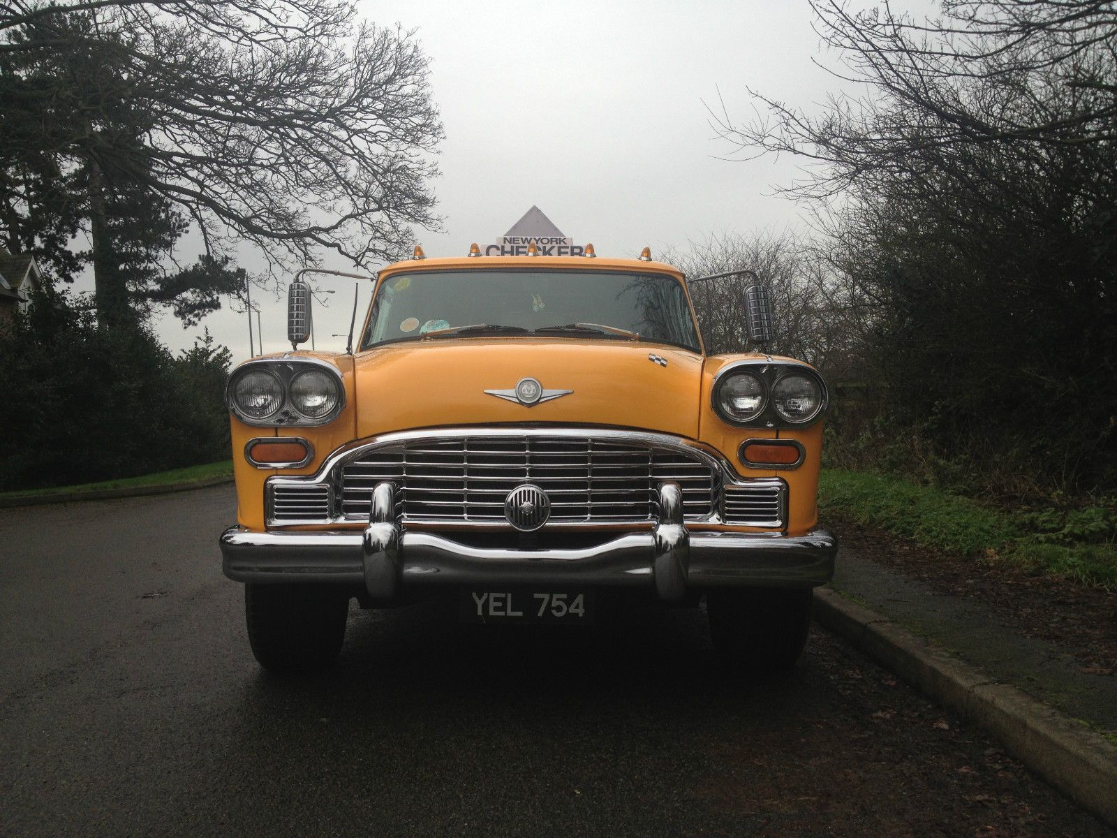 Limo Limousine 1964 Checker Aerobus New York Checker Cab Limo Only One In Uk Ebay