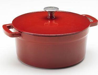 @Kohl's: Food Network Dutch Oven solo $15.99 es un 85% de descuento en Amazon a http://amzn.to/2eVFCyK