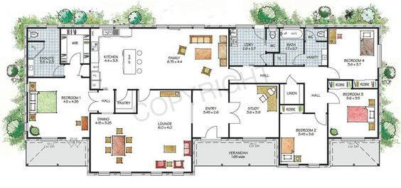 The Hawkesbury Floor Plan Download A Pdf Here Paal Kit Homes Offer Easy To Build Steel Frame Kit Homes For The Owner Builder And Have Displ House Plans Australia