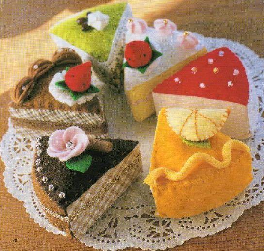 PDF patterns book sewing food vegetables dolls