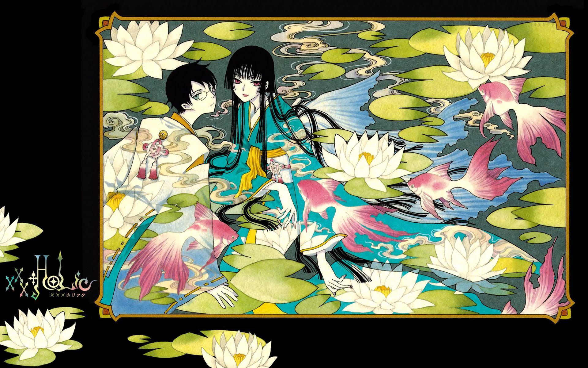 Download xxxHOLiC: xxxHolic Rei Illustration 1 (1920x1200) - Minitokyo