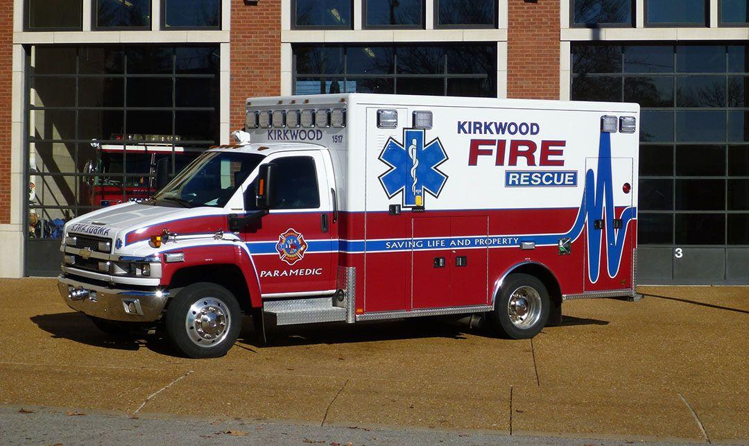 Kirkwood Fire Rescue Ems Ambulance Emergency Vehicles Fire