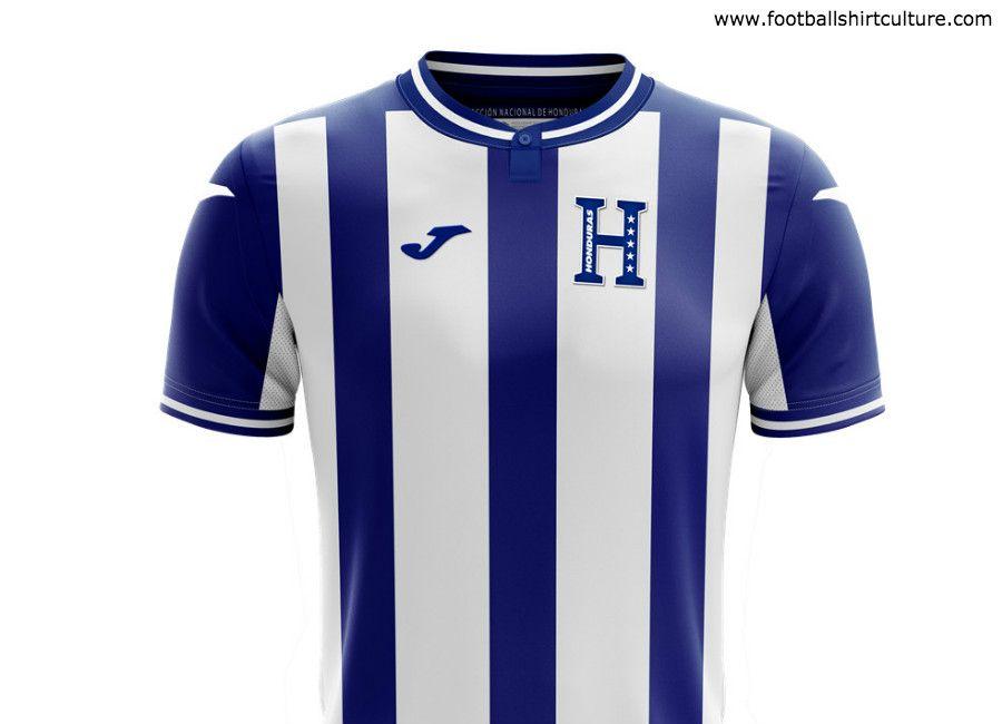 Honduras 2019 Joma Away Shirt Honduras Footballshirt Football Shirts Joma Shirts