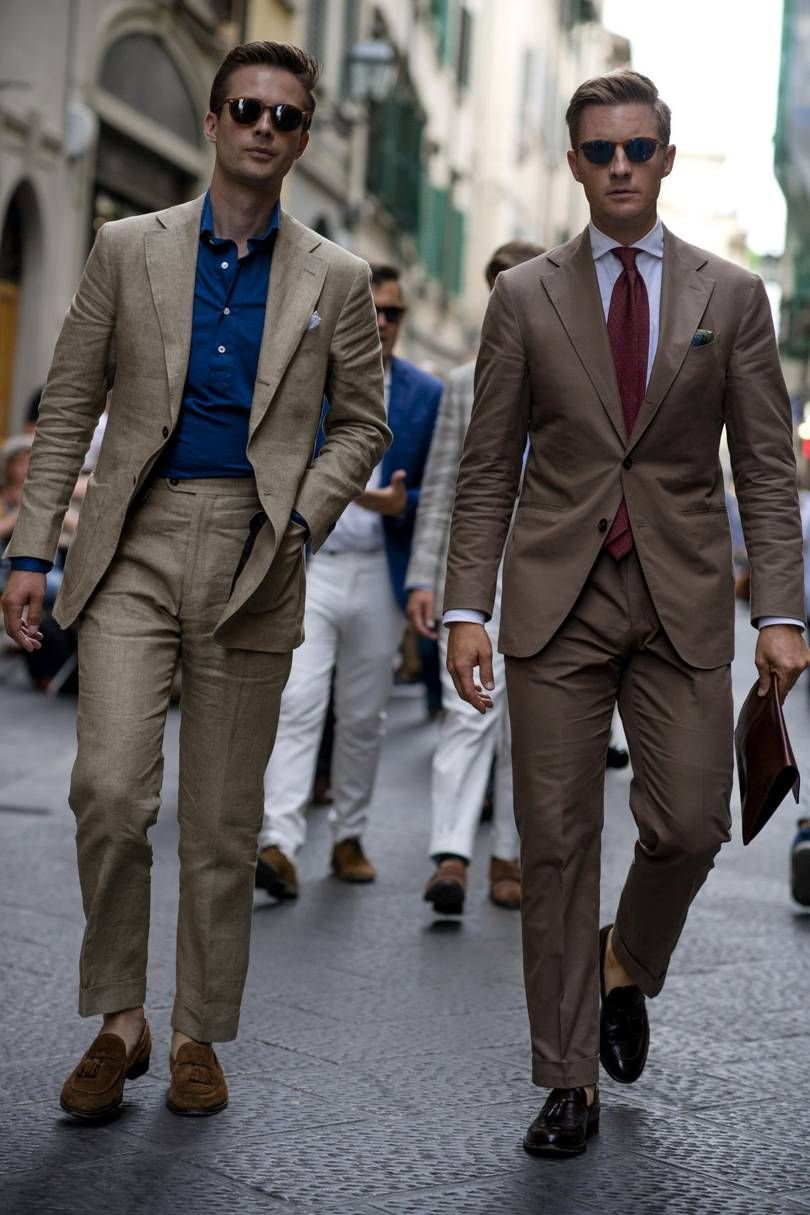 Pitti Uomo SS18 street style | British GQ | Mens outfits, Mens fashion suits, Pitti uomo street style
