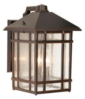 J Du J Sierra Craftsman 15 High Bronze Outdoor Wall Light 25355 Lamps Plus Outdoor Wall Lighting Porch Lighting Craftsman Lighting