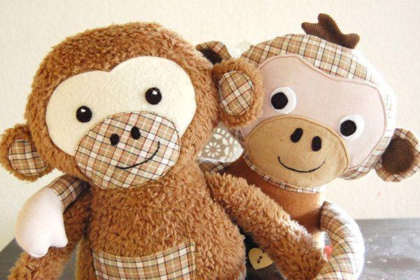 Animali autopulentiLilli Und peluche Baby SewingMonkey Doll di e9YWE2DHI