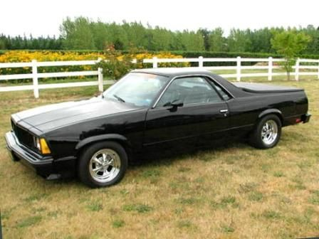 1980 El Camino Business In The Front Party In The Back West Classic Chevy El Camino Chevy El Camino