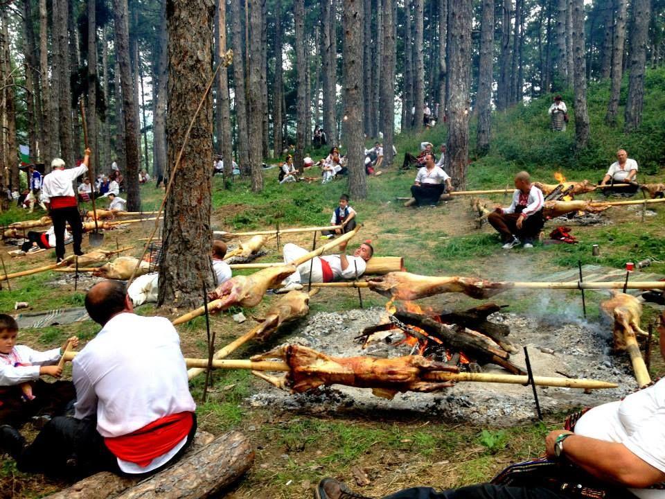 Zheravna, Bulgaria. The festival of traditinal bulgarian costume