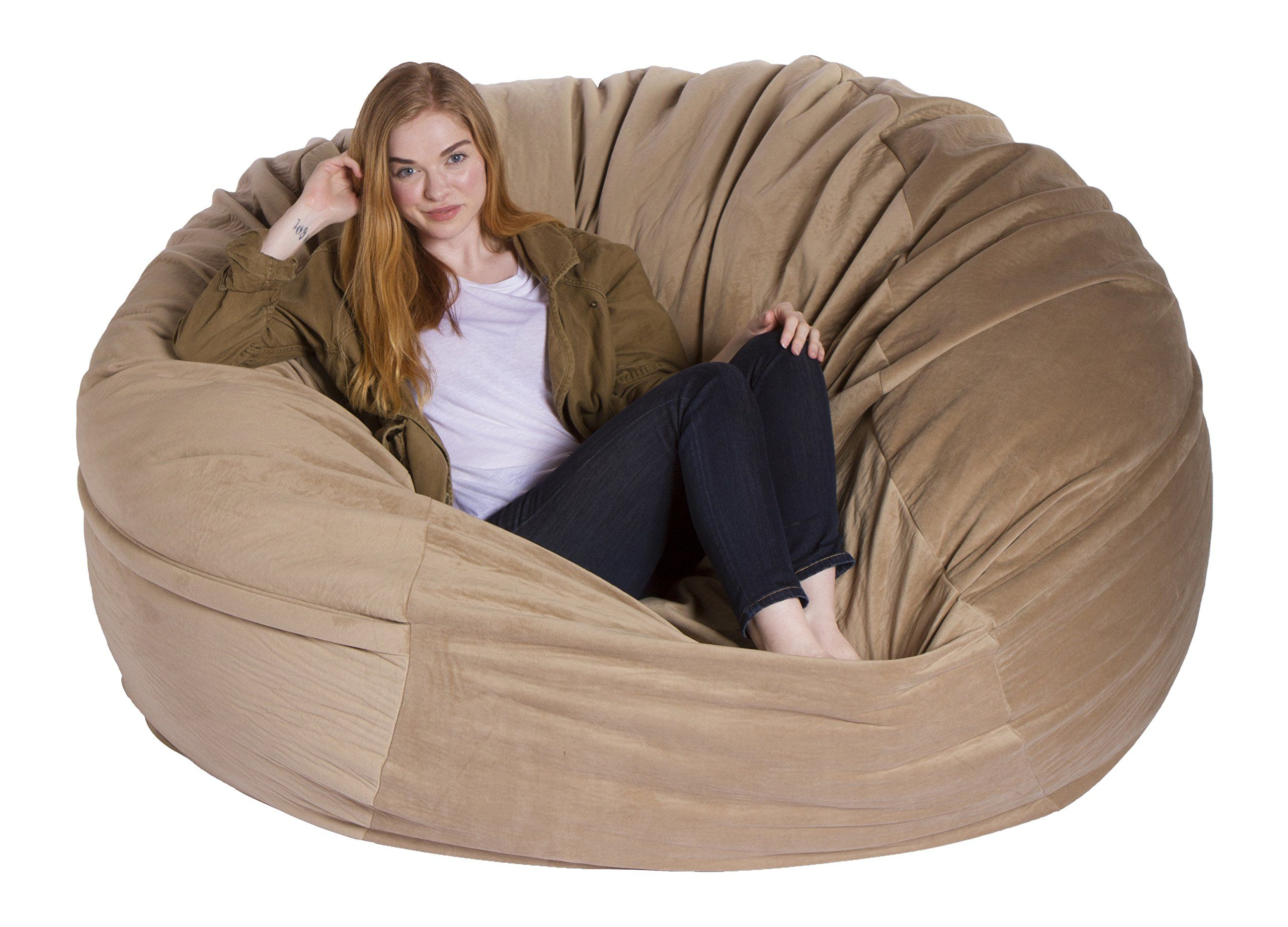 Astounding Giant Bean Bag Chairs Premium Foamfilled Lounge Sac Want Onthecornerstone Fun Painted Chair Ideas Images Onthecornerstoneorg