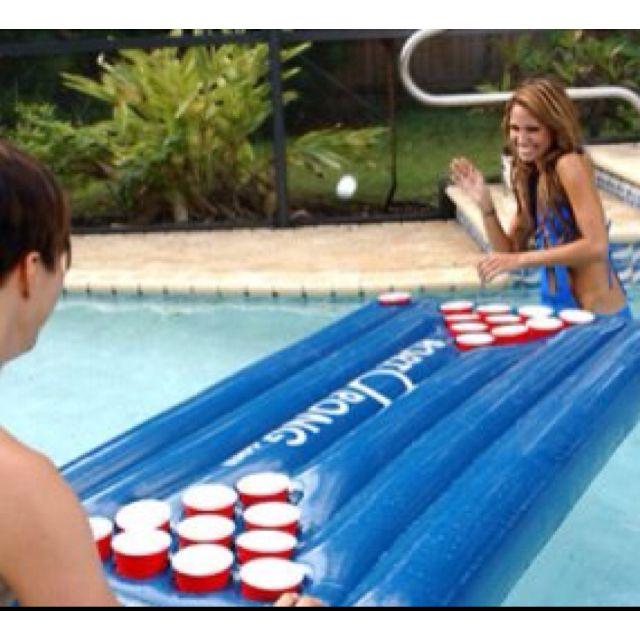 Pool Beer Pong Walmart 17 79 For The Home Pool Beer