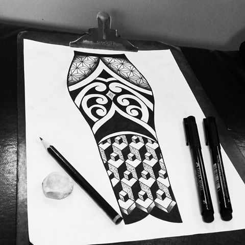 Rascunho Black  work  com  pontilhismo e 3d. Ótimo  desenho para  fazer na batata da perna.  Espero que  gostem.  Chega  de fazer tattoo igual a de todos.  #tattoocaldara #tattoo #inspirationtattoo #tatuagem #tattoos_of_instagram #tattooforever #outlawstattoo #tattoolovers #instatattoo #blackworktattoo #blackwork #dotworktattoo #pontilhismo #pontilhismotattoo #dotwork  #tatuagens #tattoos #3d  #3dtattoo  #geometrictattoo  #tattooart  #tattooartist  #tatuaje #petropolis #legtattoo…