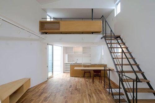 Inside Tiny Houses Narrow Lot House Design For Japanese Family Home
