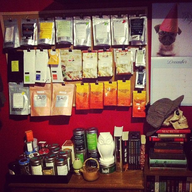 Photo By Bata668   Brilliant Solution To My Tea Storage Problem.
