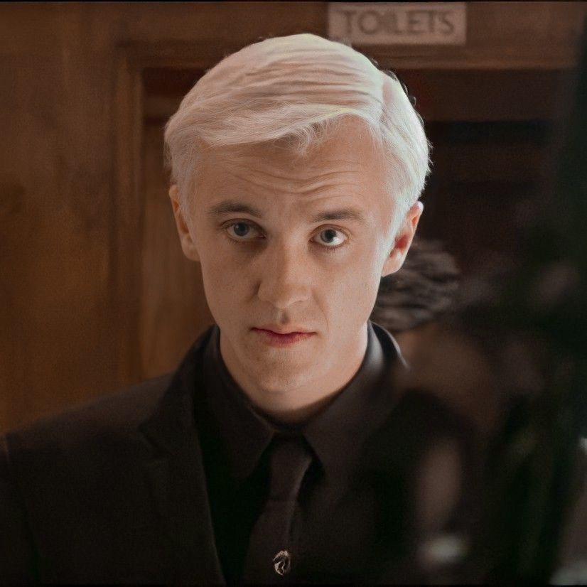 Draco Malfoy uploaded by polterg3ist on We Heart I
