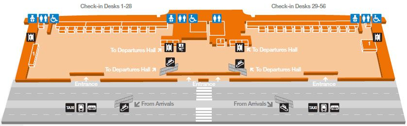 Dublin Airport T2 layout guide Dublin Airport Guide