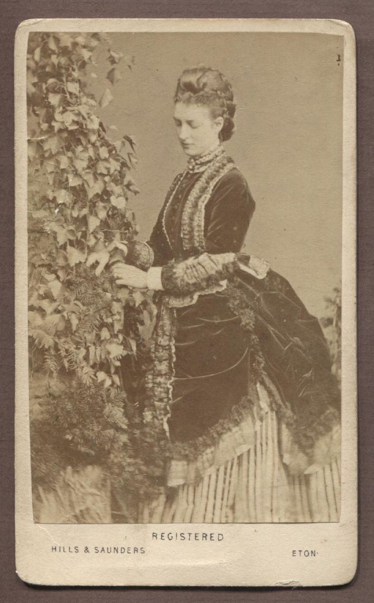 Alexandra of Denmark, Princess of Wales by Hills & Saunders c. Mid 1860s