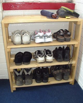 shoe racks made out of pallets my home made shoe rack ideas for the house how to make. Black Bedroom Furniture Sets. Home Design Ideas