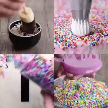 Photo of Everything's better with sprinkles!  Cakes Cupcakes and More Recipe Videos by So Yummy