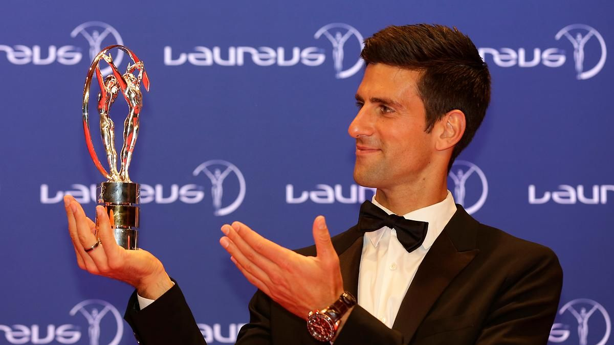 """Laureus World Sport Awards verliehen: Zwei Tennis-Stars sind """"Sportler des Jahres"""""""