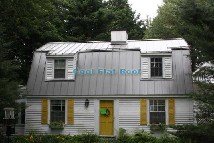 Standing Seam Metal Roof Installation In Wayland Ma Residential Metal Roofing Green Roof System Standing Seam Metal Roof