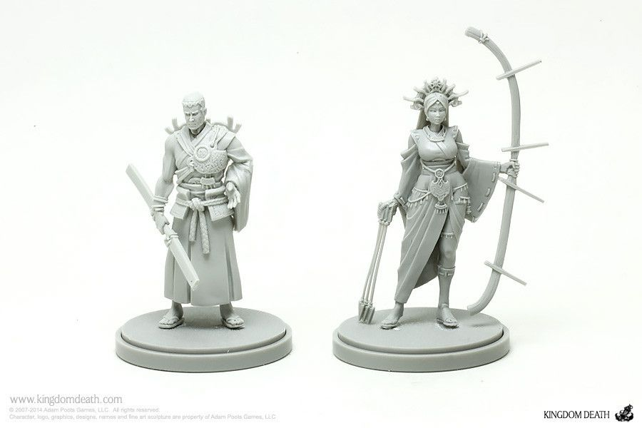 Kingdom Death: People of the Sun (miniature)