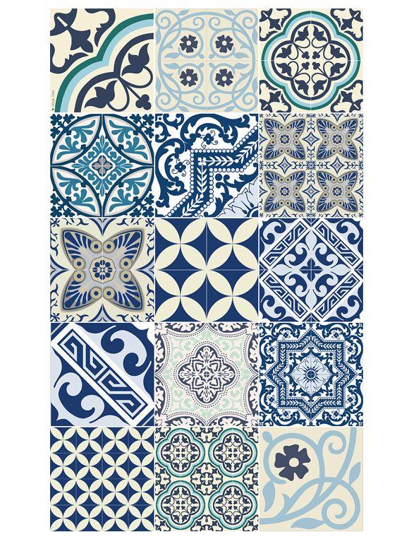 portugieischer fliesenspiegel in k che oder als gestaltungselement im flur koupelny tiles. Black Bedroom Furniture Sets. Home Design Ideas