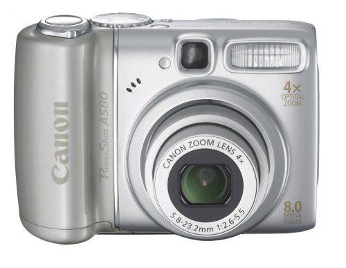 Canon Powershot A580 8mp Digital Camera With 4x Optical Zoom Amazon Best Buy Digital Camera Powershot Best Digital Camera