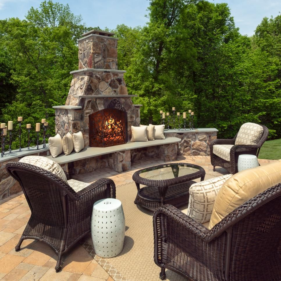 Search viewer outdoor fireplaces pinterest stone bench stone
