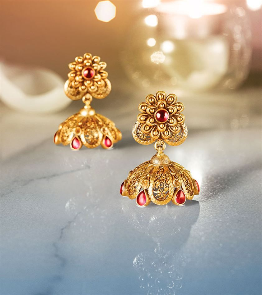 Catalogue of offers from Tanishq | Earrings | Pinterest | Catalog ...