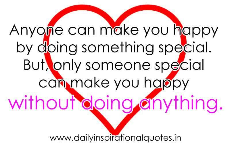 Only someone special