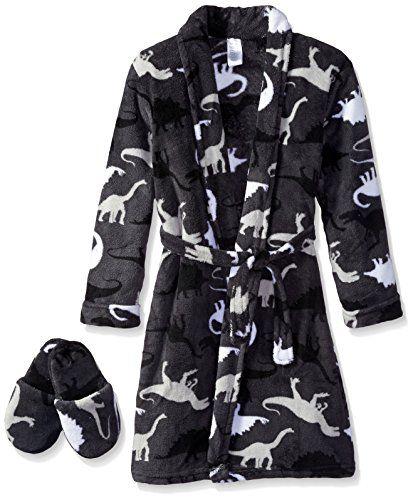 Too Cool 2 Sleep Little Boys' Dinosaur Camo Robe with Slippers, Gray, 2T Too Cool 2 Sleep http://smile.amazon.com/dp/B00YJGAG14/ref=cm_sw_r_pi_dp_3IG5wb14K2D7X