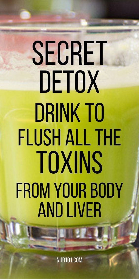 Powerful Detox Drink To Cleanse Toxins From Your Body Fast