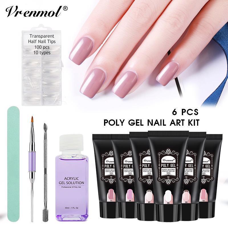 Vrenmol Nail Art Pens Brushes Ebay Fashion Gel Nail Kit Nail Kit Silk Nails