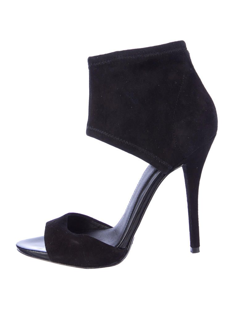 Brian Atwood Suede Sandals