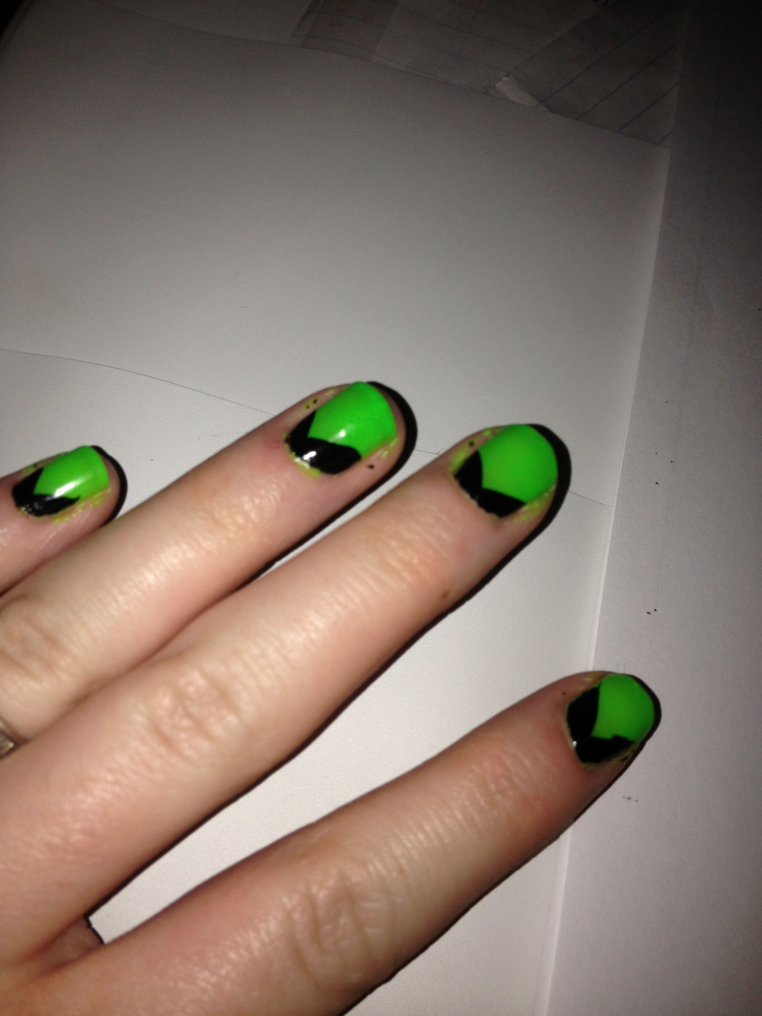 Wicked Witch Of The West Nails