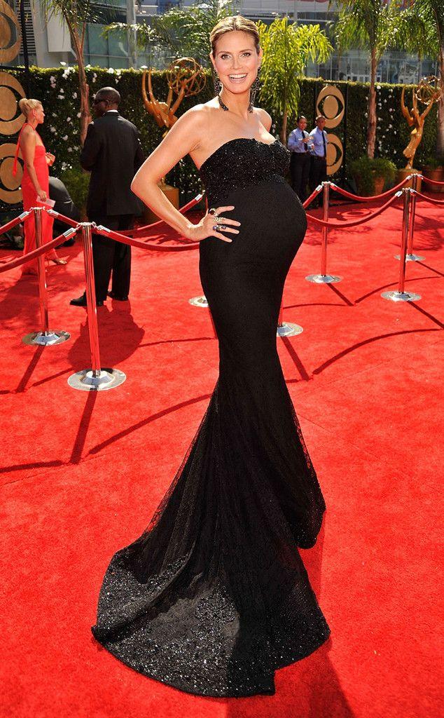 Chic Maternity Style from Heidi Klum's Best Looks | Chic maternity ...