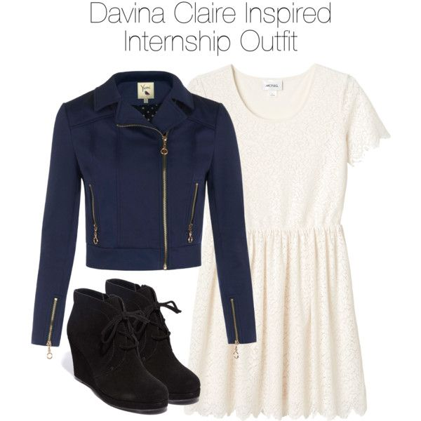The Originals - Davina Claire Inspired Internship Outfit by staystronng on Polyvore featuring Monki, Yumi, Dolce Vita, to, Work, internship and DavinaClaire