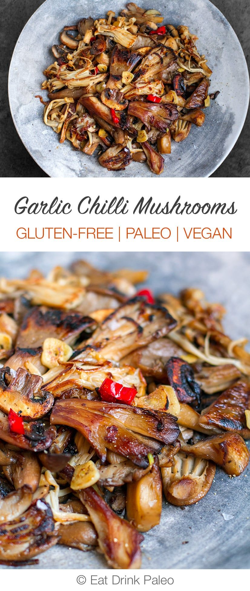 Garlic Chilli Mushrooms