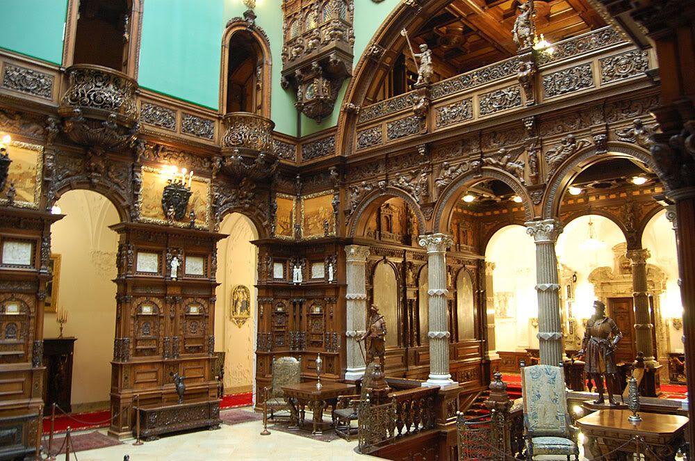 Peles Castle, Grand Hall - Romania