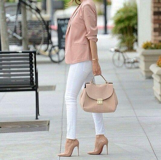 10134cdbb1a Blazer rosa pastel