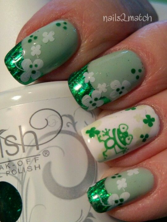 St Pats Day Froggy | All About Green | Pinterest | Santa patricia ...